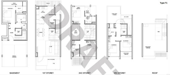 belgravia villas floor plan