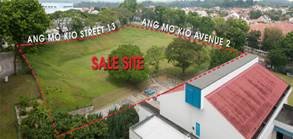 Sale site of new condo near St Nicholas Girls School - The Panorama