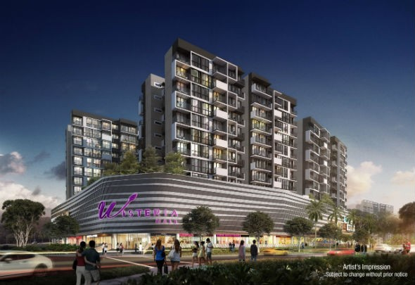 wisteria_yishun_mixed_development_perspective