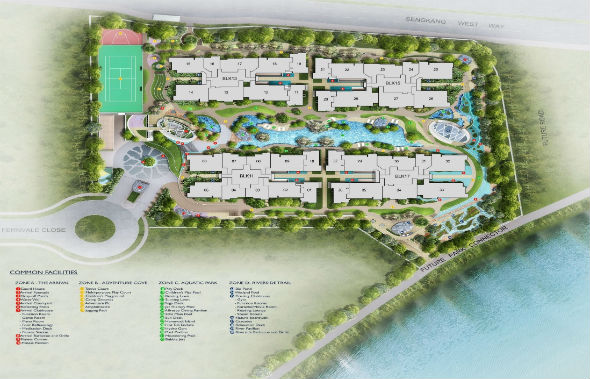 riverbank_fernvale_sengkang_site_map
