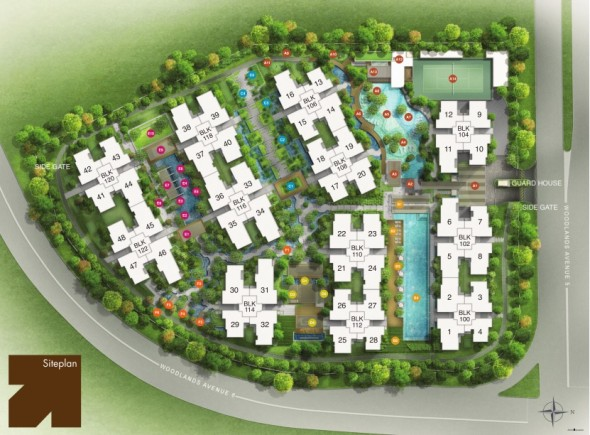 bellewoods_ec_woodlands_site_plan