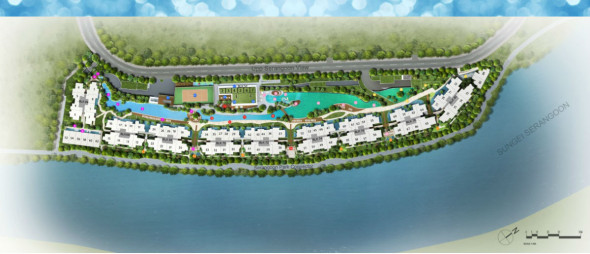 kingsford_waterbay_hougang_condo_site_map