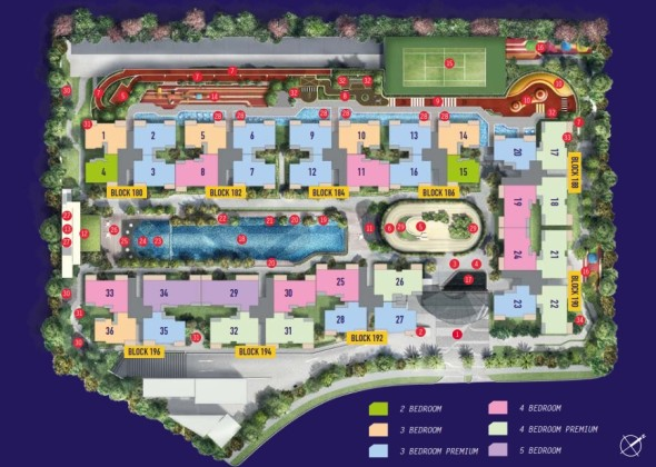 westwood_residences_ec_site_map