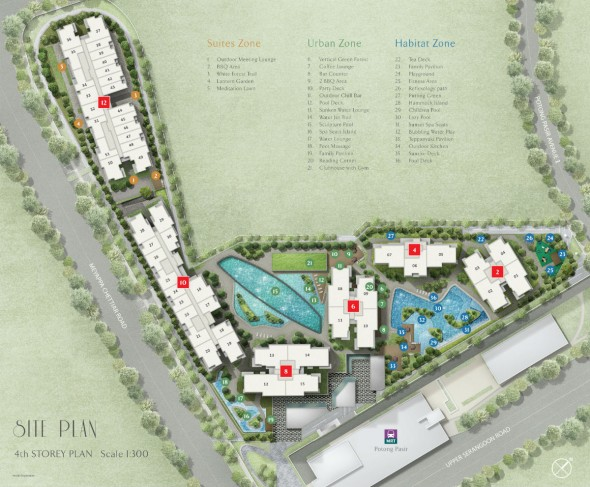 the_poiz_residences_potong_pasir_mrt_site_map
