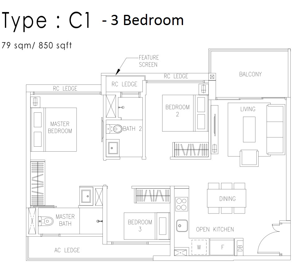 cospace floor plan layout at the visionaire
