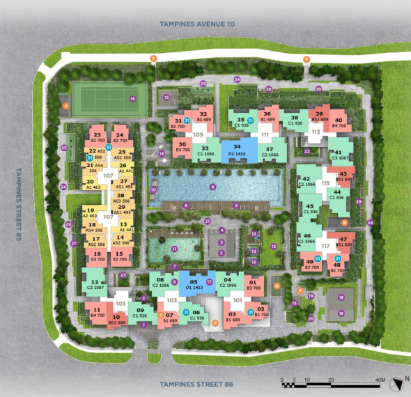the_alps_residences_tampines_site_plan